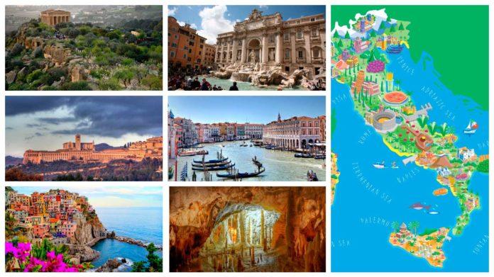 интересные места Италии в кратком обзоре