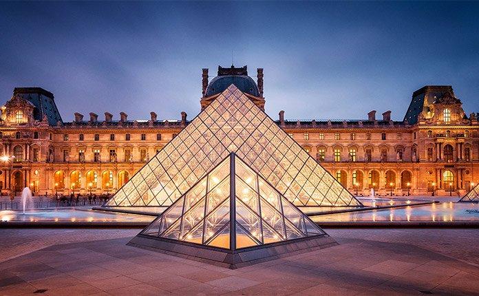 Достопримечательности Франции – Лувр (дворец)
