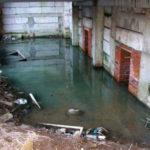 Затопленный этаж Ховринской больницы