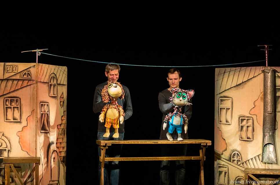 кукольный театр Волшебная лампа в Москве