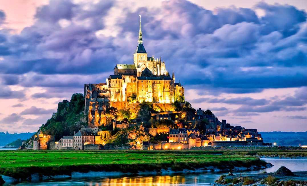 Достопримечательности Франции: Мон-Сен-Мишель