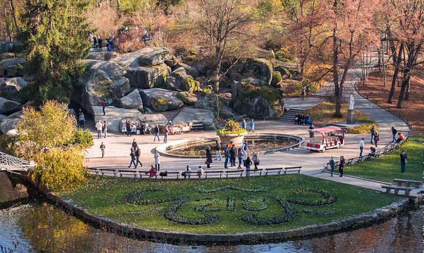 Софиевский парк фото