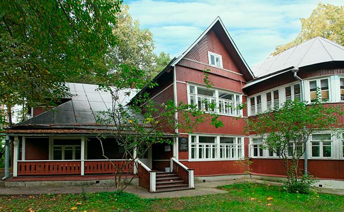 дом Пастернака в Переделкино