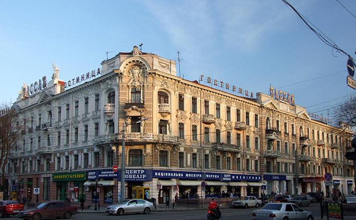 Гостиница Пассаж в Одессе