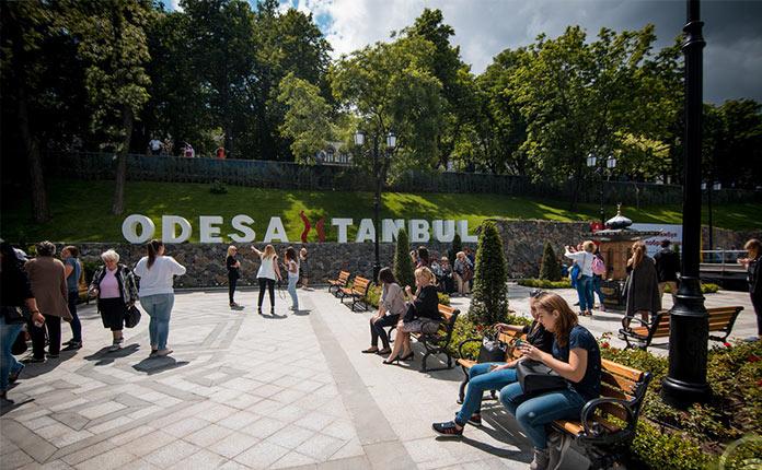 Стамбульский парк в Одессе
