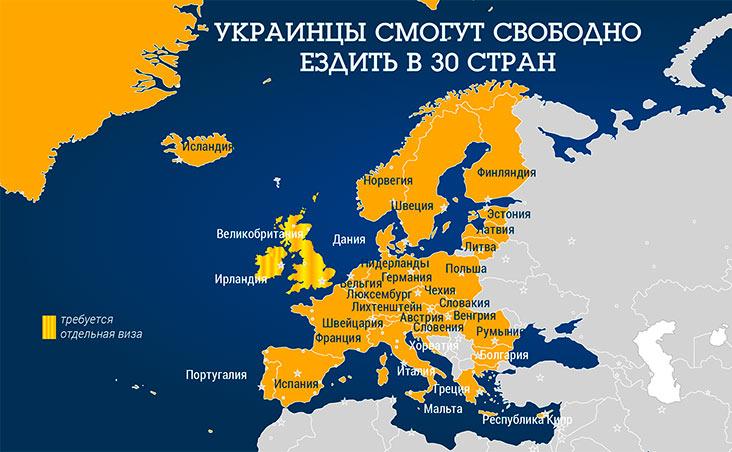 безвиз для украины 2017