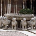 фонтан со львами во дворце