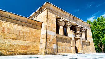 История создания храма Дебод