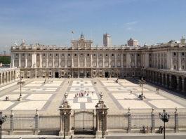 Королевский дворец в Испании