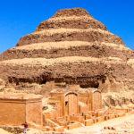 пирамида Джосера фото