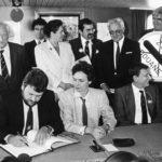 Подписание шенгенского соглашения