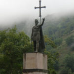 статуя короля Пелайо