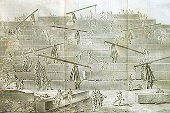 Пирамида Джосера внутри