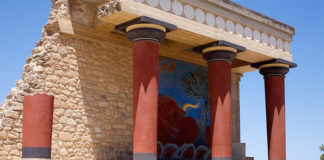 Кносский дворец ффото