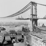 строительство бруклинского моста фото