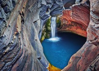 басейн в парке Кариджини