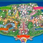 карта парка диснейленд