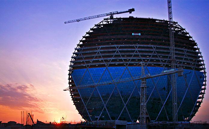 Aldar HQ в Абу-Даби