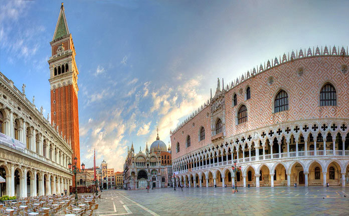 Площадь Сан Марко в Венеции