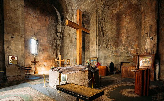 Храм Джвари в Грузии