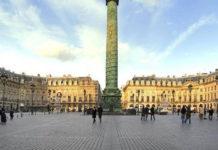 Вандомская площадь в Париже