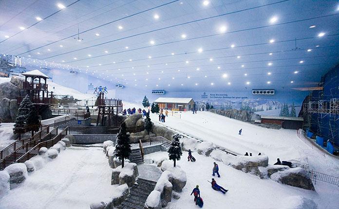 Дубай снежный комплекс пригород праги недвижимость