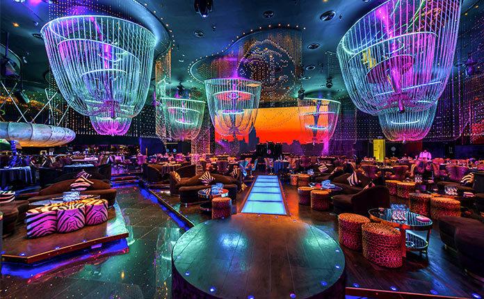 Ночные клубы Дубая для русских