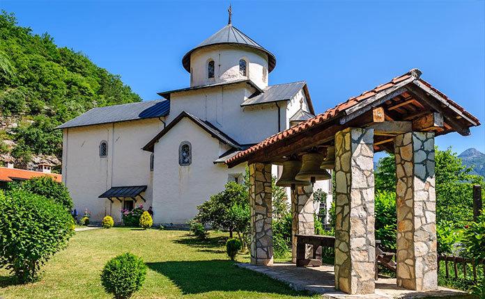 Монастырь Морача в Колашине