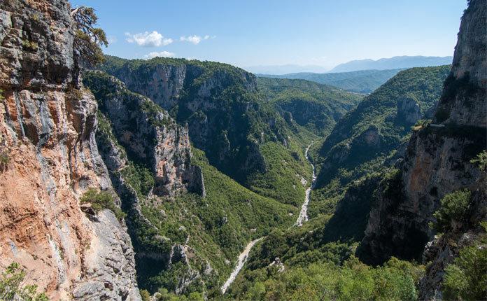 Ущелье Викос в Греции