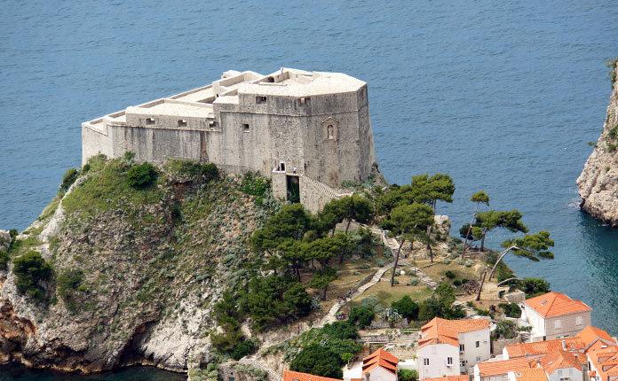 Крепость Ловриенац в Хорватии