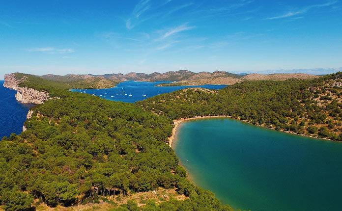 Природный парк Телашчица в Хорватии