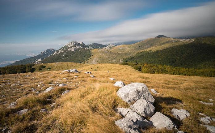 Природный парк Велебит в Хорватии