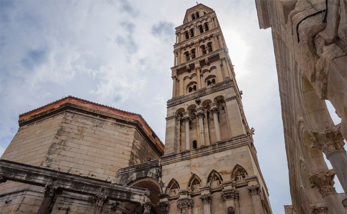 Сплитский собор в Хорватии