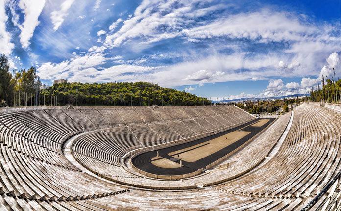 Стадион Панатинаикос в Греции