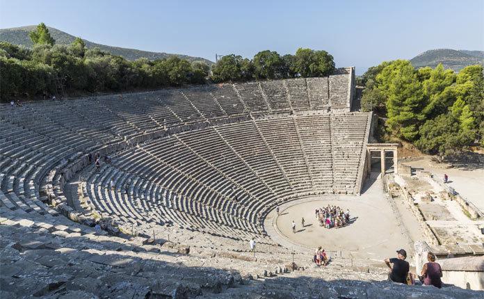 Театр в Эпидавре в Греции