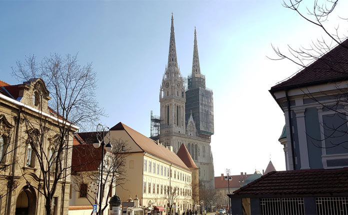 Загребский Собор в Хорватии